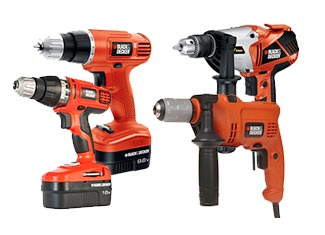 Black and Decker  Drill & Driver Parts
