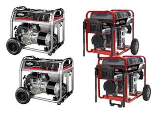 Briggs and Stratton  Generators Parts