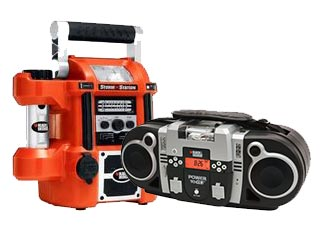 Black and Decker  Radio Parts