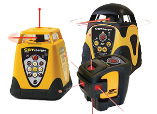 CST-Berger  Laser Levels