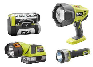 Ryobi  Flashlight Parts