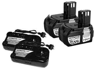 Hitachi  Battery and Charger Parts