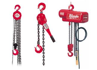 Milwaukee  Chain Hoist Parts