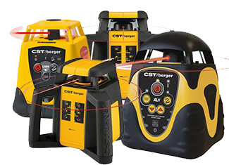 CST-Berger  Self Leveling & Rotating Lasers