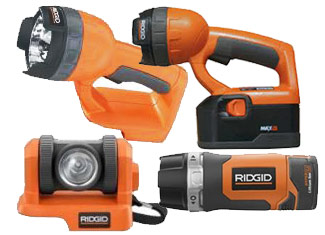 Ridgid  Flashlight Parts