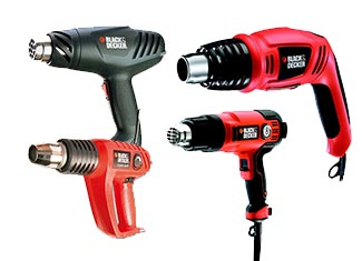 Black and Decker  Heat Guns Parts