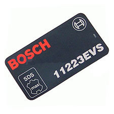 Bosch 1 611 110 719 Manufacturer's nameplate Image