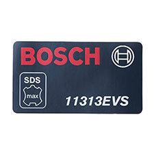 Bosch 1 611 110 768 Manufacturer's nameplate Image