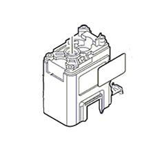 Bosch 1 615 102 142 Motor Housing BLUE Image
