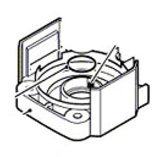 Bosch 1615808083 BEARING COVERImage