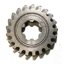 Bosch 1 616 320 002 Cylindrical Gear Z=6/21 Image