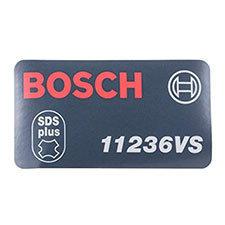 Bosch 2-610-994-195 Manufacturer's NameplateImage