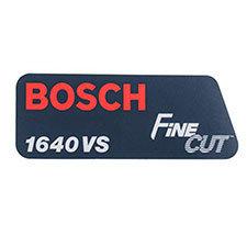 Bosch 2-610-996-448 Manufacturer's NameplateImage