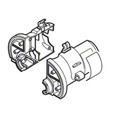 Bosch 2-610-997-458 Motor HousingImage