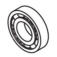 Makita 060-03003-70 BALL BEARING, G4300LImage