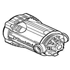 Makita 140019-8 MOTOR HOUSING CPL., PC5001CImage