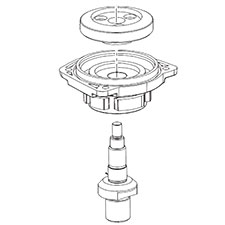 Milwaukee 14-73-0065 M14 Spindle/Hub AssemblyImage