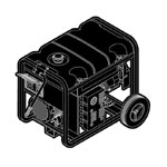 Briggs and Stratton Generators Parts Briggs and Stratton 030208-0 Parts
