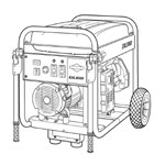 Briggs and Stratton Generators Parts Briggs and Stratton 030254-0 Parts