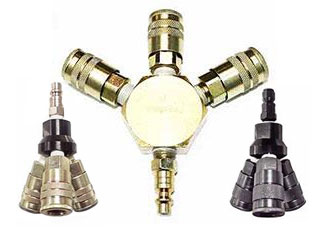 Interstate Pneumatics Pneumatic Tool Accessories Air Fitting Kits