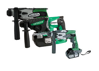 Hitachi Rotary Hammer Parts Cordless Rotary Hammer Parts