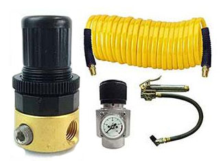 Interstate Pneumatics Pneumatic Tool Accessories Air Pressure Regulators