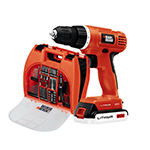 Black and Decker Cordless Drill & Driver Parts Black and Decker BDC120VA100-Type-1 Parts