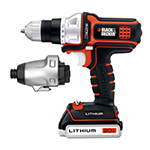 Black and Decker Cordless Drill & Driver Parts Black and Decker BDCDMT120IA-Type-1 Parts