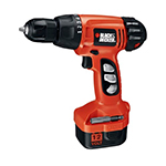 Black and Decker Cordless Drill & Driver Parts Black and Decker CD120GK-Type-1 Parts