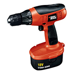 Black and Decker Cordless Drill & Driver Parts Black and Decker CD1800K-Type-1 Parts