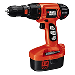 Black and Decker Cordless Drill & Driver Parts Black and Decker CD180GRK-Type-1 Parts