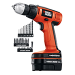 Black and Decker Cordless Drill & Driver Parts Black and Decker CDC9600KB-Type-1 Parts