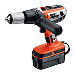 Black and Decker Cordless Drill & Driver Parts Black and Decker FSX18HD-Type-1 Parts