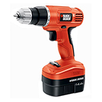 Black and Decker Cordless Drill & Driver Parts Black and Decker GCO1440-Type-1 Parts