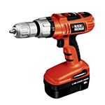Black and Decker Cordless Drill & Driver Parts Black and Decker HP180K-B3-Type-1 Parts