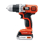 Black and Decker Cordless Drill & Driver Parts Black and Decker LD116-BR-Type-1 Parts