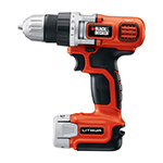 Black and Decker Cordless Drill & Driver Parts Black and Decker LDX112C-Type-1 Parts