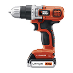 Black and Decker Cordless Drill & Driver Parts Black and Decker LDX116C-Type-1 Parts