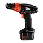 Black and Decker Cordless Drill & Driver Parts Black and Decker PS1200K-Type-1 Parts