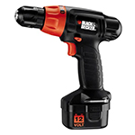 Black and Decker Cordless Drill & Driver Parts Black and Decker PS1200K-Type-3 Parts