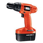 Black and Decker Cordless Drill & Driver Parts Black and Decker PS1800K-Type-6 Parts
