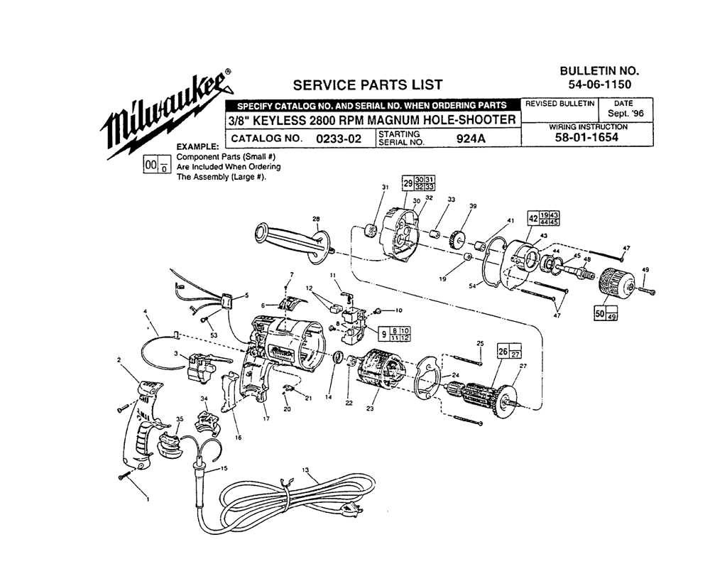 craftsman hammer drill wiring diagram