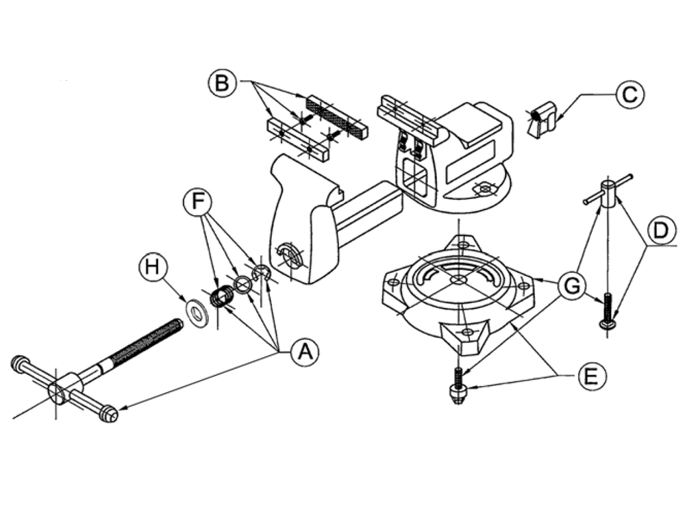 Wilton Vise Parts Diagram