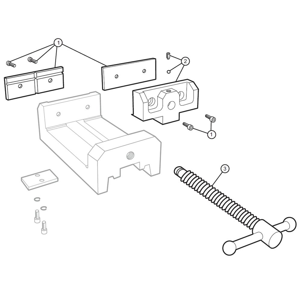 Wilton Vise Parts >> Buy Wilton 11674 Di44 Replacement Tool Parts Wilton 11674 Di44