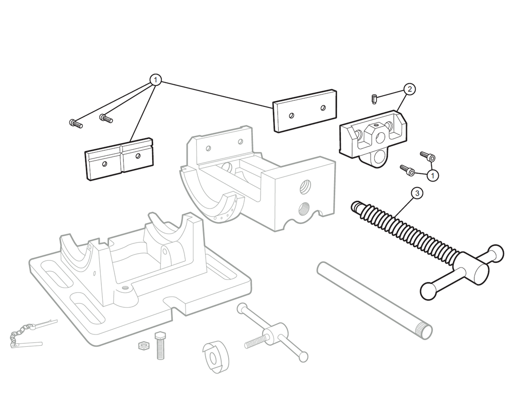 Buy Wilton 11753cr3 Replacement Tool Parts A Vise Diagram Schematic