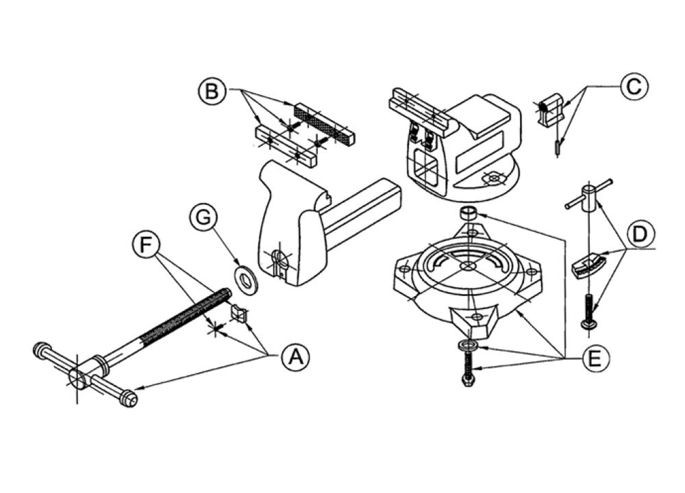 buy wilton 11800 648hd replacement tool parts wilton 11800 648hd rh toolpartspro com wilton bullet vise parts diagram Wilton Vise Replacement Parts
