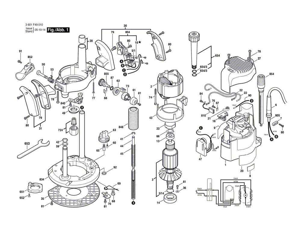 buy bosch 1649 4 u0026quot  reciprocating parts replacement tool parts