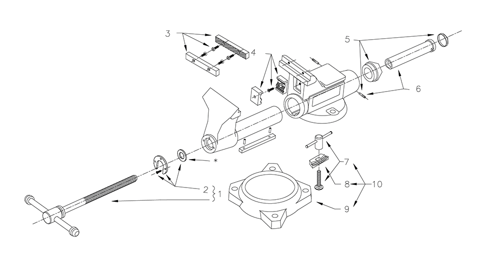 Wilton Vise Parts >> Wilton Vise Parts Diagram Diagram Data Schema