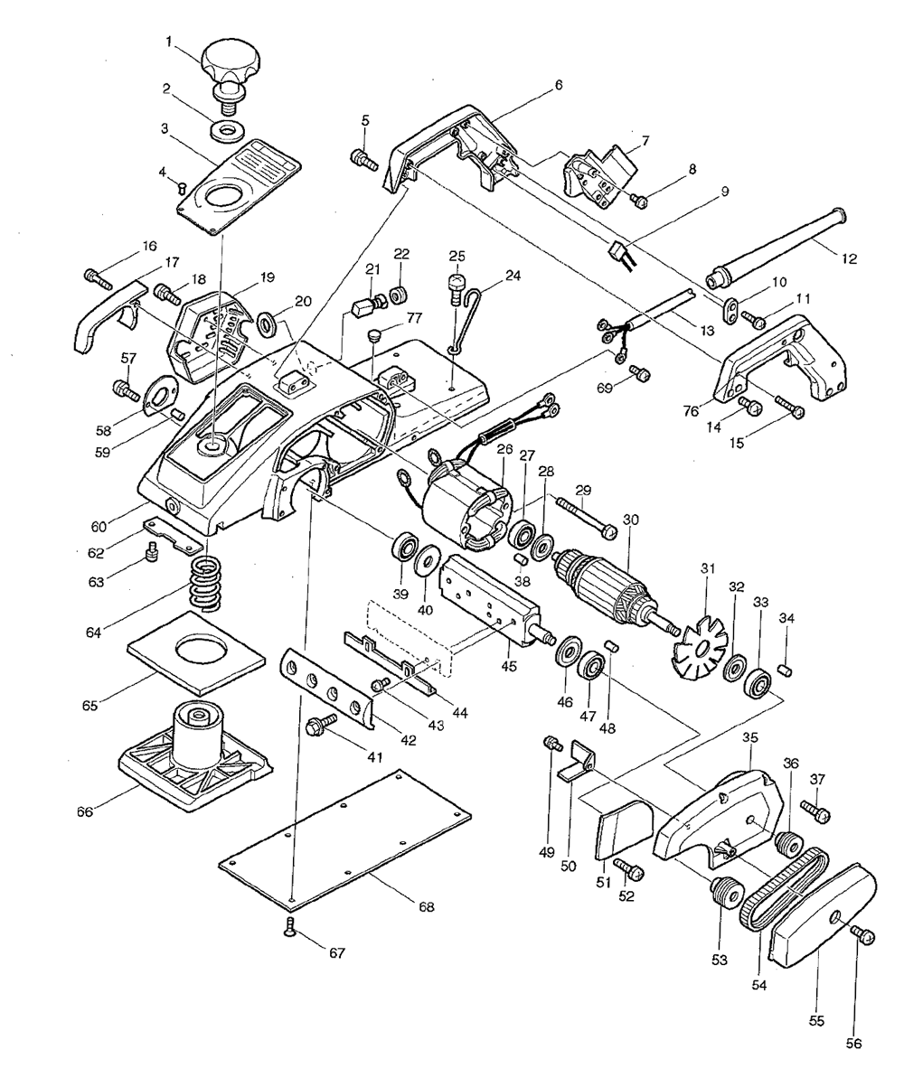 Buy Makita 1804n Replacement Tool Parts A Href Wilton Sbv100 List And Diagram Ereplacementpartscom Schematic