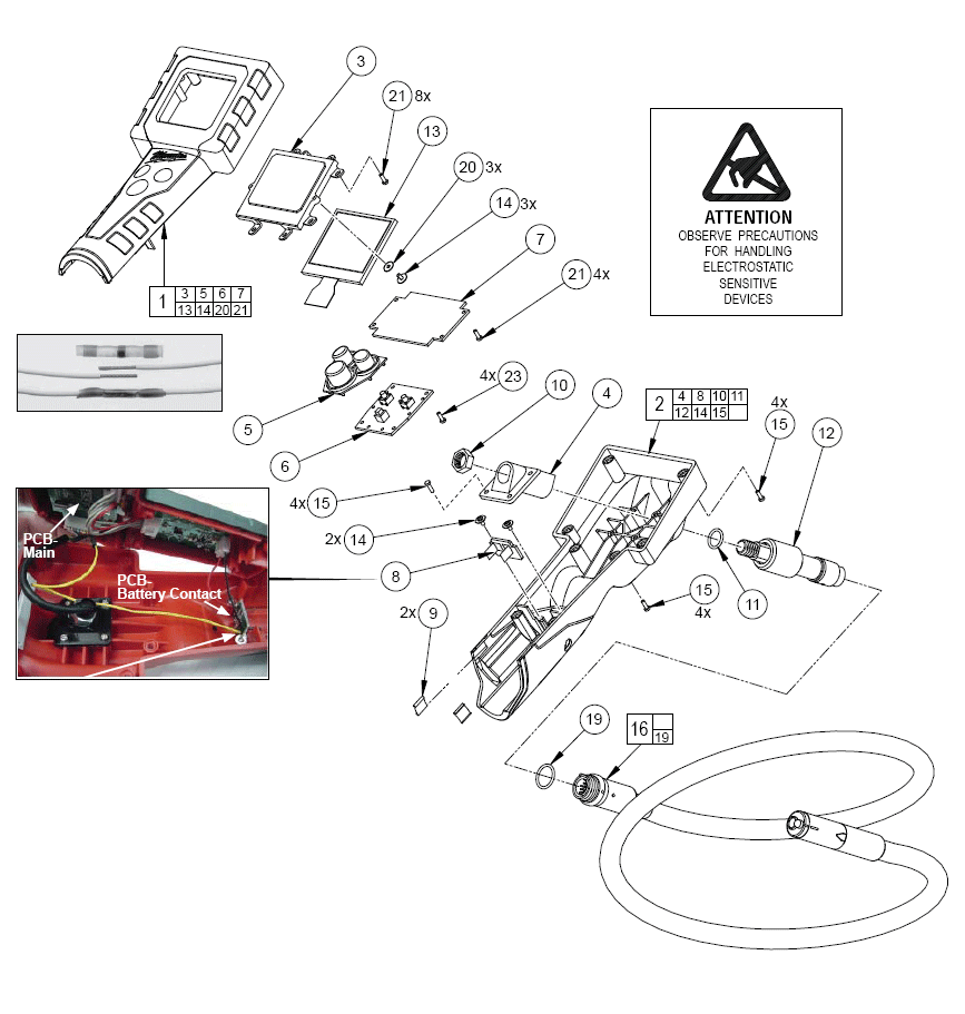 Buy Milwaukee 2310 21 M12 12 Volts M Spector Digital Cordless Wiring Diagram Parts Schematic